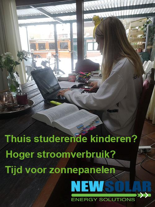 thuis studerende kinderen